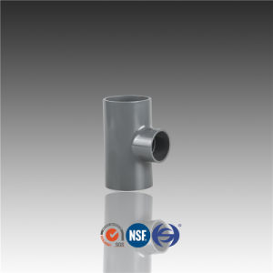 DIN Standard PVC Fittings Connector Reducer Tee pictures & photos