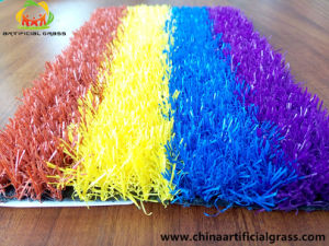 20mm New Design Artificial Turf Grass with Mix Colors pictures & photos