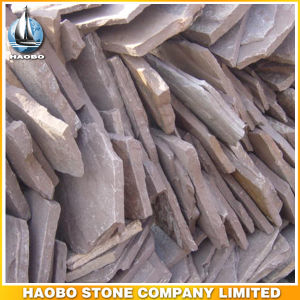 Flooring Material Wholesale Irregular Slate Flagstone for Paving pictures & photos
