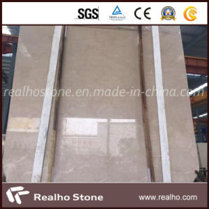High Quality Polished France Beige Marble Slab for Project pictures & photos
