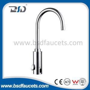 Temperature Control Brass Sensor Touch Kitchen Mixer pictures & photos