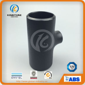 CS Reducing Tee Carbon Steel Pipe Fittings to ASME B16.9 (KT0331) pictures & photos