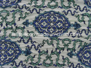 100%Silk Knitted Silk Jersey Printed Fabric pictures & photos