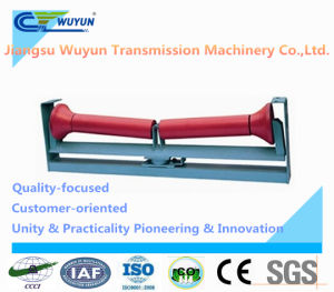 Conveyor Steel Lower Friction Self-Aligning Idler and Frame for Belt Conveyor pictures & photos