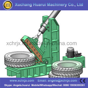 Big Waste Tire Cutting Machine pictures & photos
