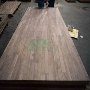 American Walnut / Juglans Nigra Side Finger Jointed Board for Furniture pictures & photos