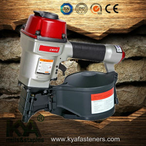 Pneumatic Cn55 Coil Nailer for Packaging, Furnituring pictures & photos