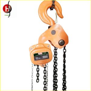 Heavy Duty 15ton Manual Chain Hoist pictures & photos