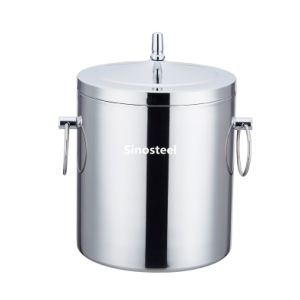 Small Stainless Steel Wine Beer Champagne Ice Bucket pictures & photos