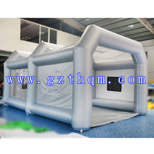 Inflatable Spray Booth Tent/Quality Workstation Inflatable Spray Paint Booth pictures & photos