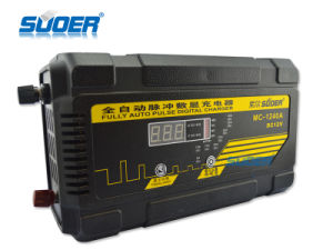 Suoer 40A 12V Digital Display Universal Automatic Battery Charger (MC-1240A) pictures & photos