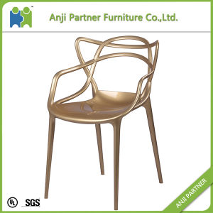 Master Design Golden Hollow Carved Design Fabulous Dining Chair (Peipah-G) pictures & photos