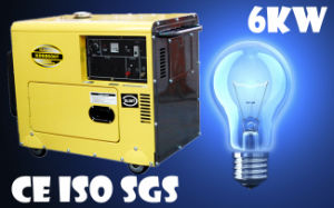 Diesel Generator Made From Manufacturer/ 6kVA Diesel Generator pictures & photos