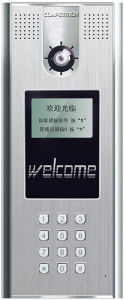 Video Doorphone with Outdoor Station, Flush Mounted (SAC521C)