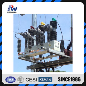 High Voltage Circuit Breaker with Line Protection Relay 33kv pictures & photos
