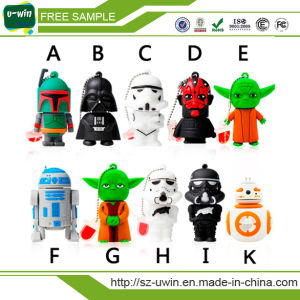 Star Wars Black Fighter PVC USB Flash Drive for Gifts pictures & photos