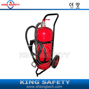 CE Wheeled Powder ABC40% Fire Extinguisher pictures & photos