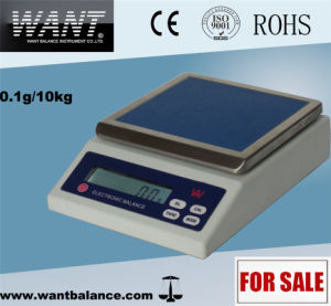 6kg 0.1g Sensitive Weighing Scales with Under Weighing Hook pictures & photos