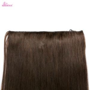 Natural Virgin Brazilian Flip Halo Hair pictures & photos