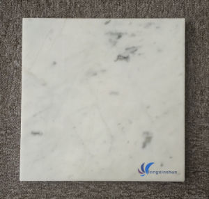 Polished Natural White Carrara Marble Slab pictures & photos