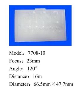 Cheap Optical Flat Fresnel Lens for PIR Sensor (7708-10) pictures & photos