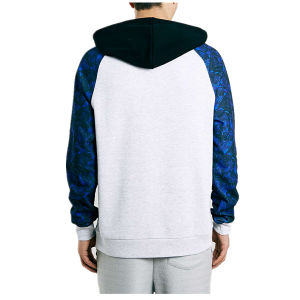 Custom Sublimation Printed Sleeve Hoodies for Men pictures & photos