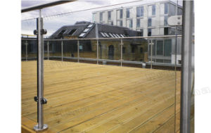 Terrace Stainless Steel Balustrade / Glass Railing pictures & photos