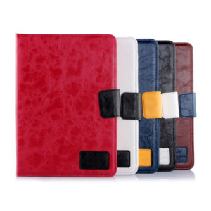 Coarse Stria Leather Case Sleep/Awake Function PU Cover for Tablet