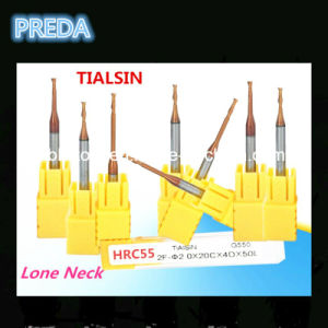 Professional Tisin Coating Long Neck End Mills pictures & photos