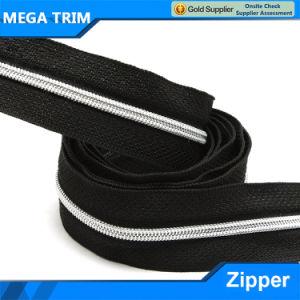 3# Silver Teeth Nylon Zipper pictures & photos
