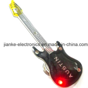 LED Flashing Guitar Badges with Customized Design (3161) pictures & photos