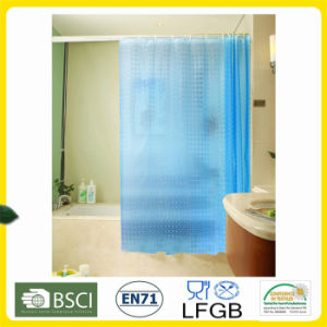 EVA, PVC Shower Curtain Factory Wholesale pictures & photos