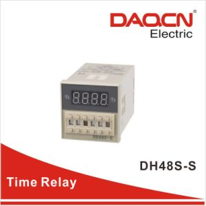 Twin Timer /Countdown/Digital Time Relay (Dh48s-S)