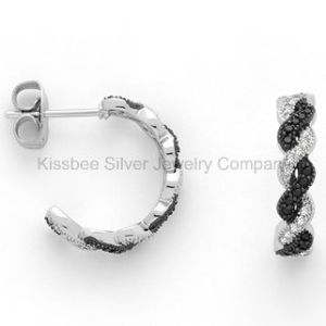 Fashion Jewelry Earrings, 925 Sterling Silver CZ Jewelry Earrings pictures & photos