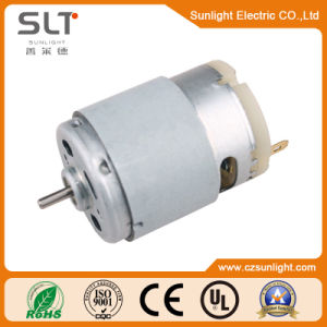 12V Micro Brush DC Geared Electric Motor for Car pictures & photos