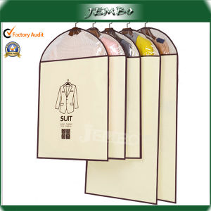 Custom Design New Non-Woven Garment Suit Carrier Bags pictures & photos