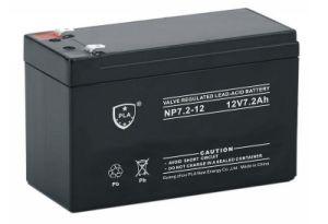 12V7.2ah VRLA Lead Acid Battery for Solar Power