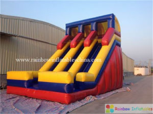 Funny Outdoor Inflatable Slide for Adult PVC Tarpaulin pictures & photos