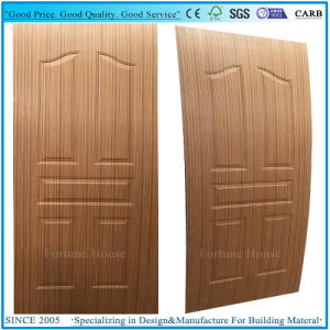 EV Sapeli Wooden Veneer 5 Panel Moulded Plywood Door Skin pictures & photos