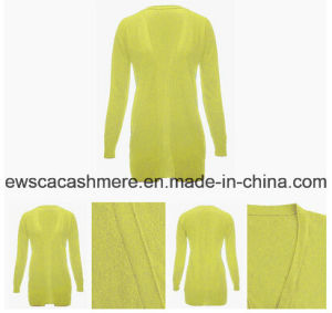 Bright Color Open Cashmere Cardigan Sweater pictures & photos