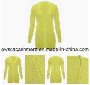 Bright Color Open Cashmere Cardigan Sweater