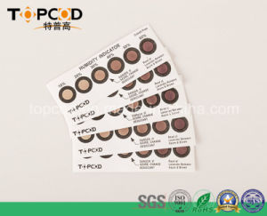 Cobalt Chloride Free 10%-60% Humidity Indicator Card PCB Used pictures & photos