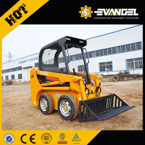 2017 New Price Hysoon Mini Skid Loader Hy910 pictures & photos