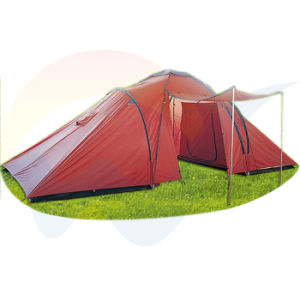 Camping Family Tent for Sale with Canopy/Luxury Family Camping Tent