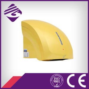 Yellow Wall Mounted Small ABS Hotel Automatic Hand Dryer (JN70904C) pictures & photos