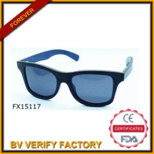 Alibaba Trade Assurance Polariod Bamboo Sunglasses (FX15117) pictures & photos