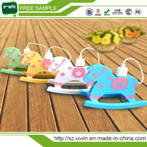 Promotional Gift Wooden Horse 4 Port USB Hub pictures & photos