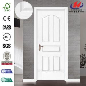 3+1 Panel White Prime Wooden Door pictures & photos