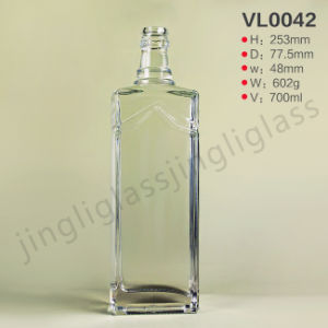 Special Bottle for Gin and Vodka, Glass Bottle for Vodka pictures & photos