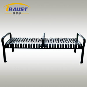 Garden Steel Straight Metal Bench Without Back/Outdoor Bench pictures & photos